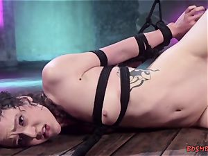 lesbians have fun with domination & submission toys