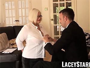 LACEYSTARR - subjugated GILF culo wedged by Pascal milky