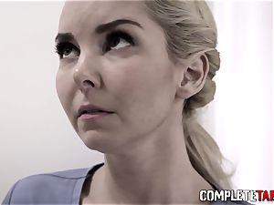 Taboo nurse face nutted