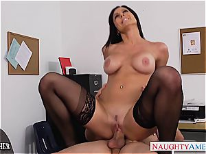 Kendra fervor super-naughty at the office for a plowing