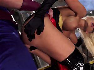 Parody - two Heros enjoy some sexual teamwork