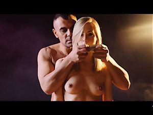 hardcore SHADES - ultra-kinky Tina Kay penetrated rock-hard in threesome