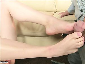 Lily enjoys blond wife fingerblasted hard by her husband