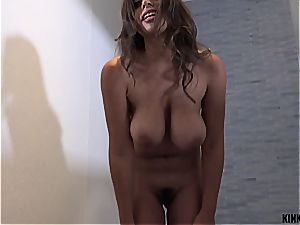 meaty titted stepsis Ella can't leave her brother's lollipop alone
