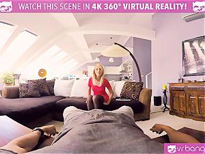 VR PORN-KATY ROSE doll IN red