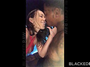 BLACKEDRAW thick donk wife luvs ass licking dark-hued studs