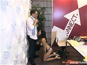 Ariana Marie at her daddys work getting humped in his office