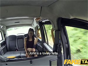 fake taxi swift screwing and internal ejaculation for peachy caboose