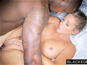 BLACKEDRAW ash-blonde trophy wifey Cucks Her hubby With big black cock