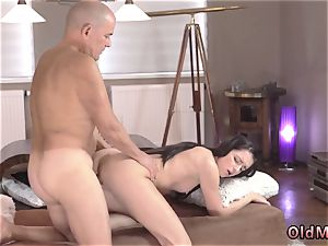 unexperienced nubile jizz on tits compilation and super-steamy facial cumshot Vacation in mountains