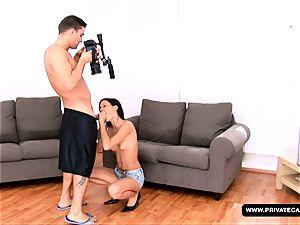 A porno casting for hump star wannabe Missy Nicole