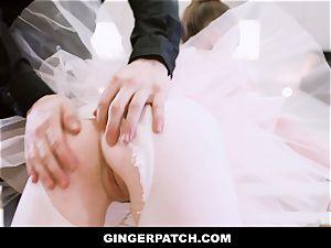 GingerPatch - redhead Ballerina railing Judges phat wood