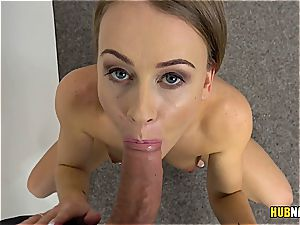 blonde unexperienced with extremely high lovemaking drive on a audition