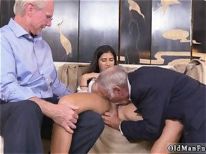 2 elderly and blondie chick pummel first-ever time Going South Of The Border