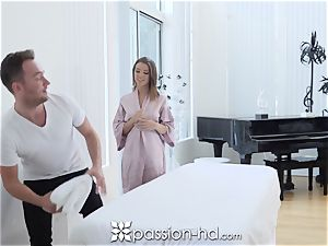 PASSION-HD dribbling internal ejaculation pound with Adriana Chechik